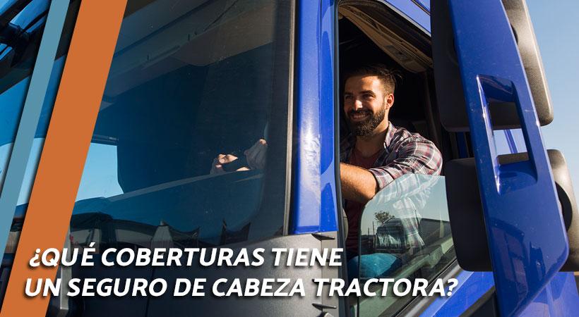 coberturas del seguro de cabeza tractora