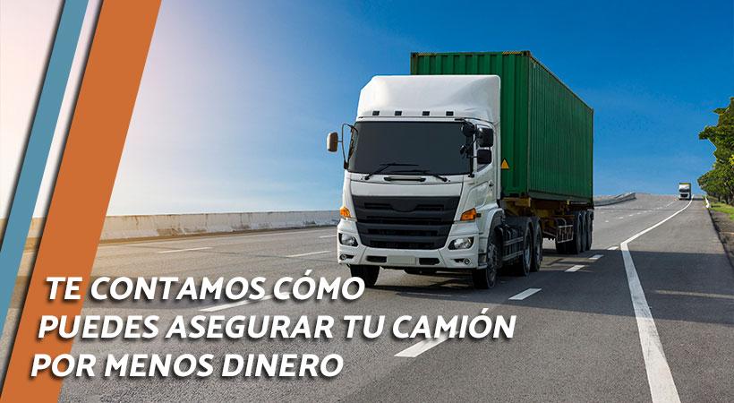 conseguir mejor precio del seguro del camion