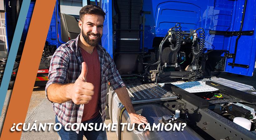 Cuánto consume un camión diésel