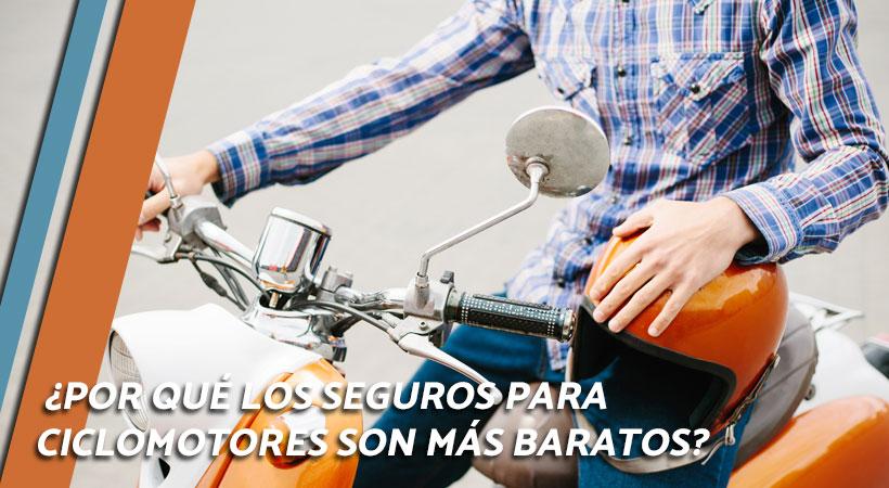 seguros para ciclomotores baratos